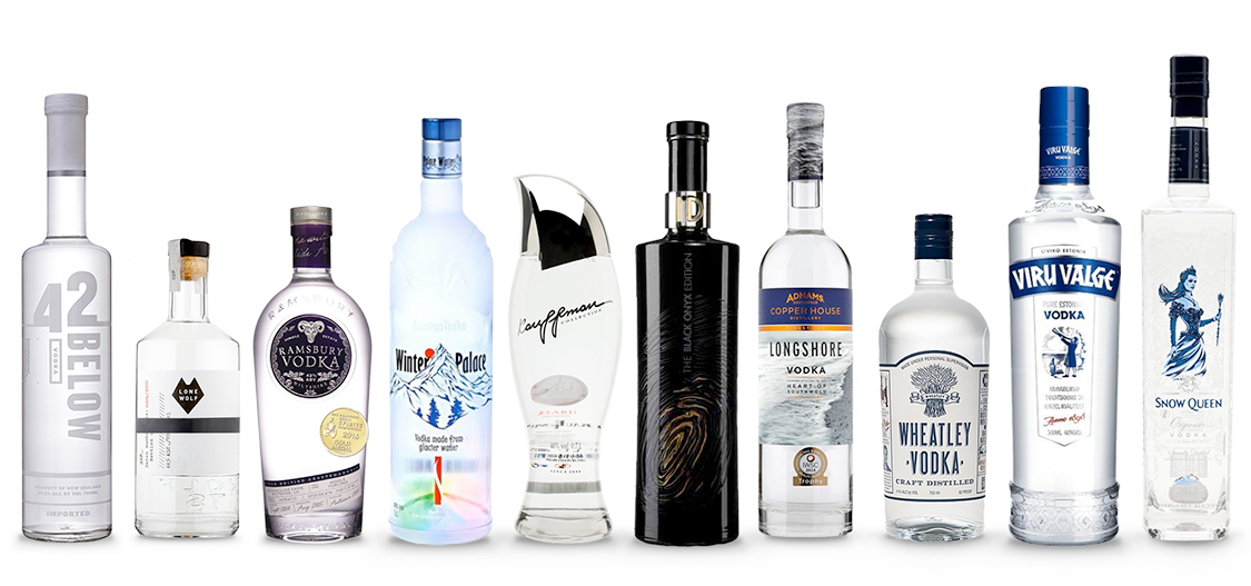 The Best 20 Vodka Brands of 2020