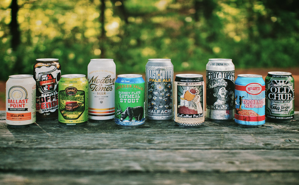 Popular Craft Beers